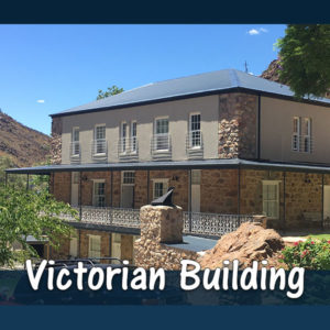 Victoria Building - Accommodation at The Baths Hot Springs self-catering resort in Citrusdal.