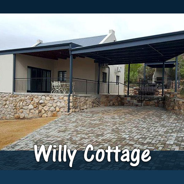 Willy Cottage (4 Sleeper) Accommodation at The Baths Hot Springs self-catering resort in Citrusdal. Enjoy the hot springs and rock pools of Citrusdal