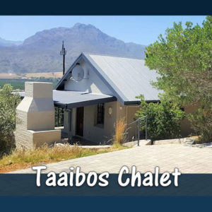Taaibos Chalet (2 Sleeper) Accommodation at The Baths Hot Springs self-catering resort in Citrusdal. Enjoy the hot springs and rock pools of Citrusdal